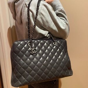 Charcoal Grey CHANEL Bag
